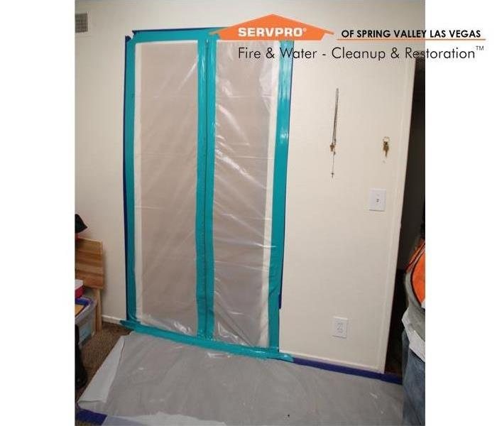 Small Mold Remediation, Las Vegas After