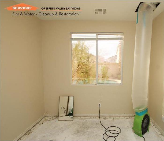 Water Damage Cleanup, Las Vegas After