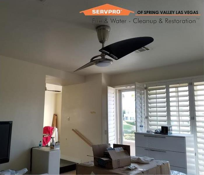 Fire damage cleanup Las Vegas Before